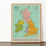 U.K. and Ireland Song Map - Open Edition