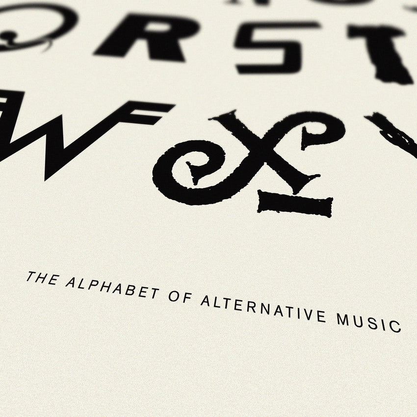 Alphabet of Alternative Music - Original Open Edition