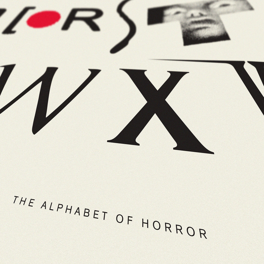 Alphabet of Horror - Original Open Edition