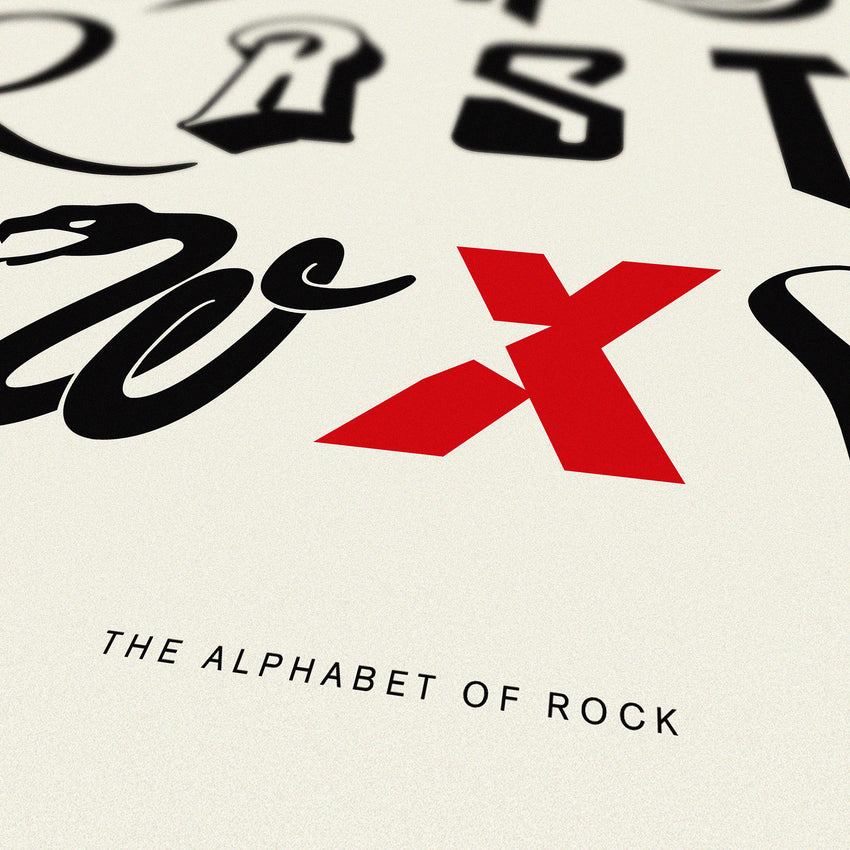 Alphabet of Rock - Original Open Edition