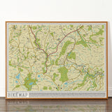 Bike Map - Signed Limited Edition