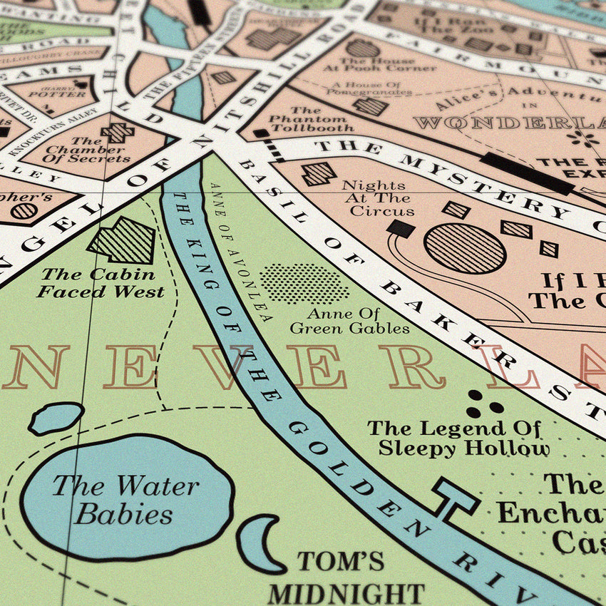 Book Map - Original Open Edition