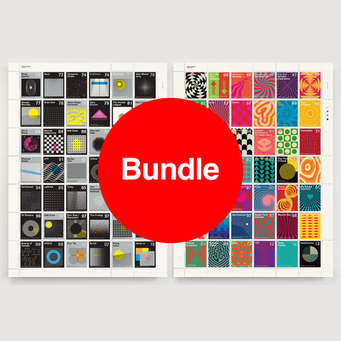Stamp Albums: Special Offer Bundle - Psych & Electronic