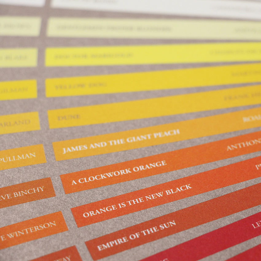 The Colour of Books - Original Open Edition