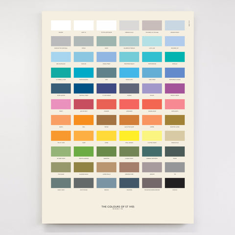 The Colours of St Ives - Print and Homeware Range for Tate