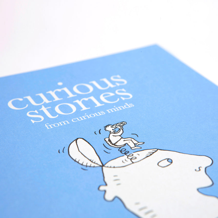 Curious Stories - Hardback Illustrated Book for Curious Minds