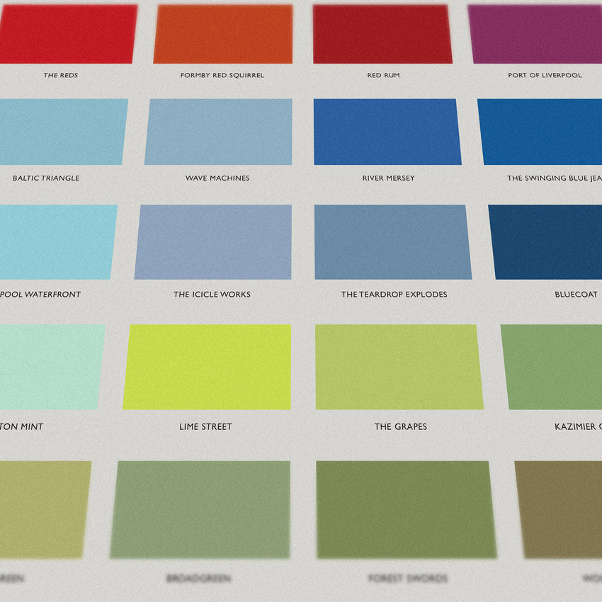 The Colours of Liverpool - Print and Homeware Range for Tate