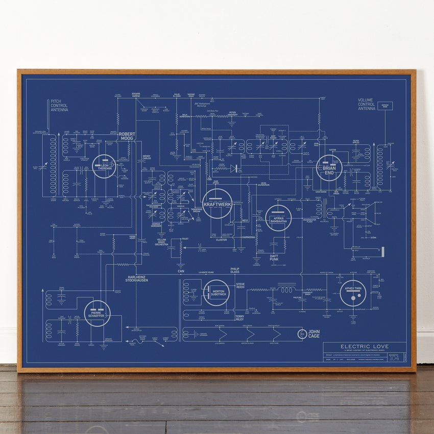 Electric love blueprint a history of electronic music dorothy electric love blueprint a history of electronic music malvernweather Images