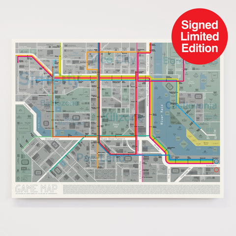 Game Map - Signed Limited Edition