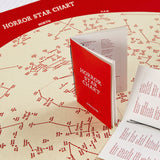 Horror Star Chart - Glow in the Dark Limited Edition