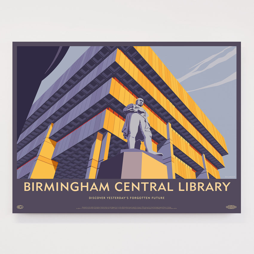 Lost Destination: Birmingham Central Library