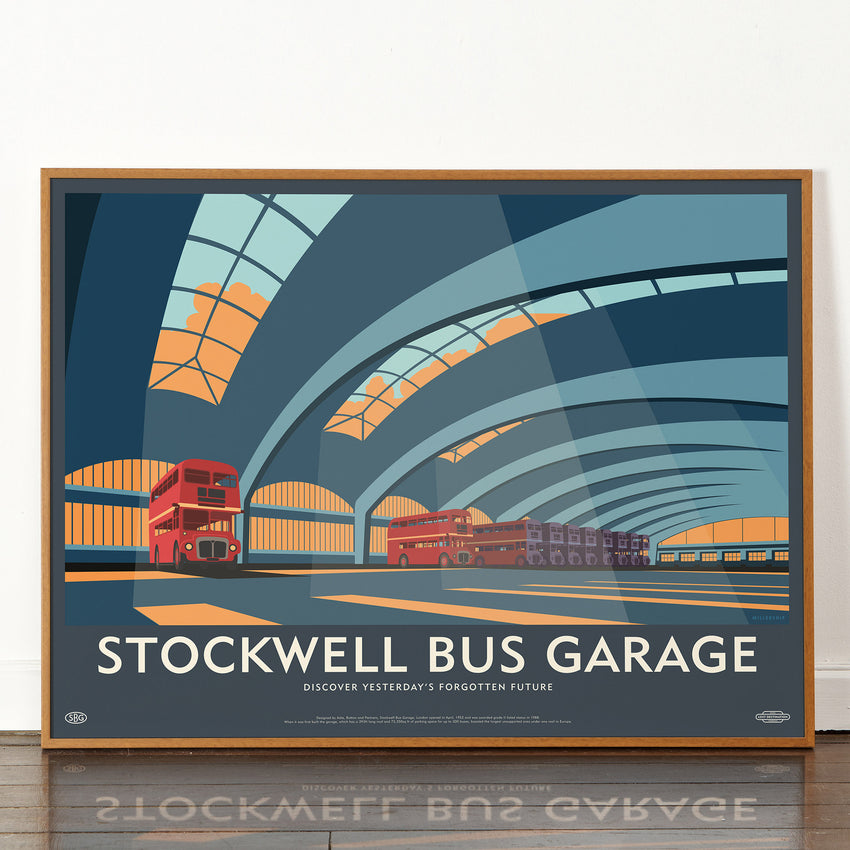Lost Destination: Stockwell Bus Garage