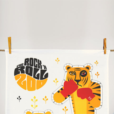 Rock 'N Roll Zoo: Eye of the Tiger - Sew Your Own