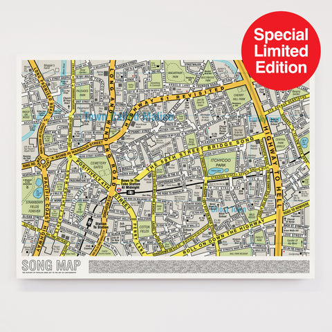 Song Map - Special Edition Large Format