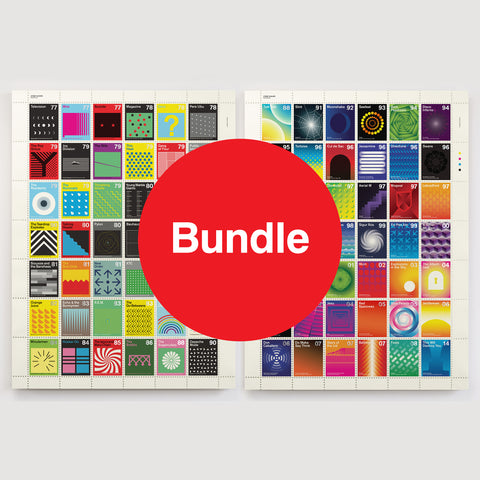 Stamp Albums: Special Offer Bundle - Post-Punk & Post-Rock