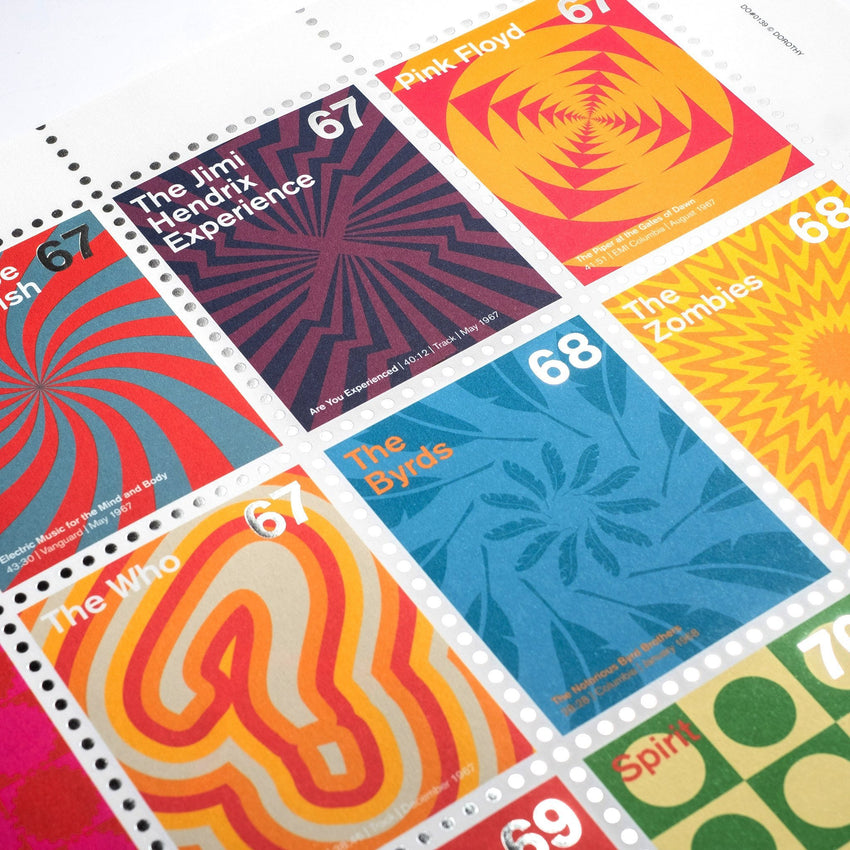 Stamp Albums: Psychedelic