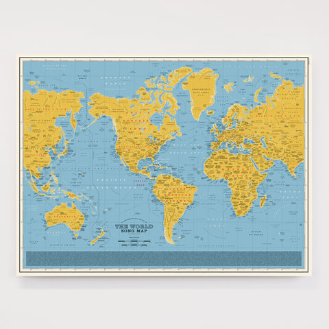 World Song Map - Special Edition