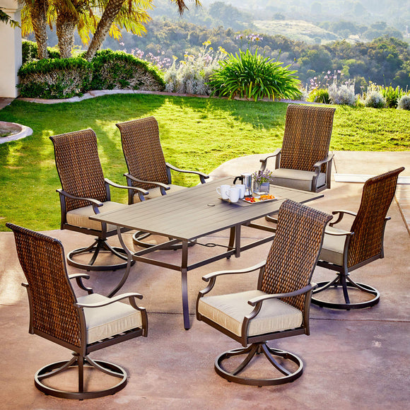 Rhone Valley 7pc Motion Dining Set