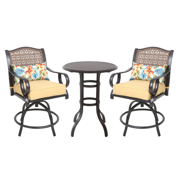 St. Kitts 3pc High Dining Set