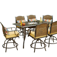 Load image into Gallery viewer, St. Kitts 7pc High Dining Set