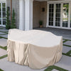 9-Piece Square Fire Dining Furniture Cover
