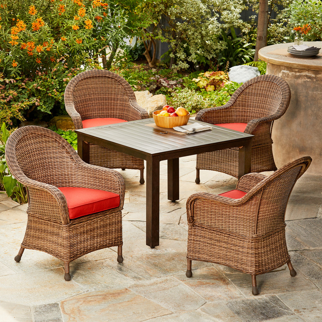 Hacienda 5pc Dining Set