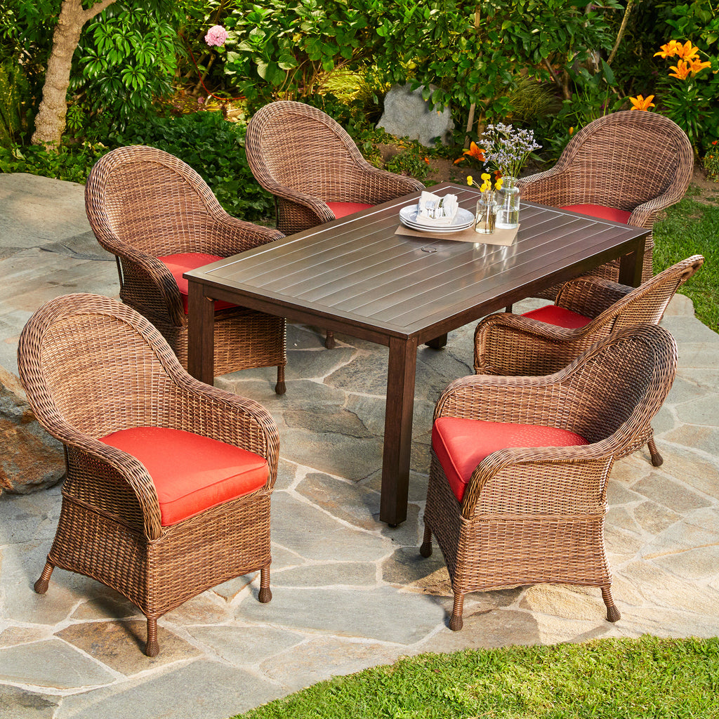 Hacienda 7pc Dining Set