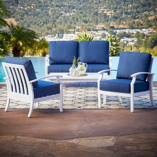 Bridgeport 4pc Coastal Conversation Set