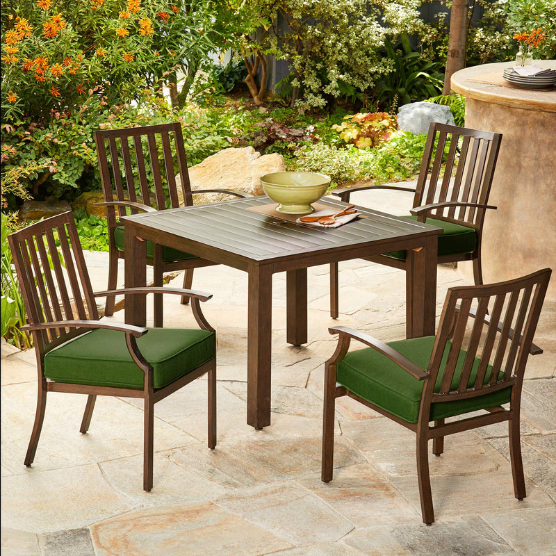 Bridgeport 5pc Stationary Dining Set