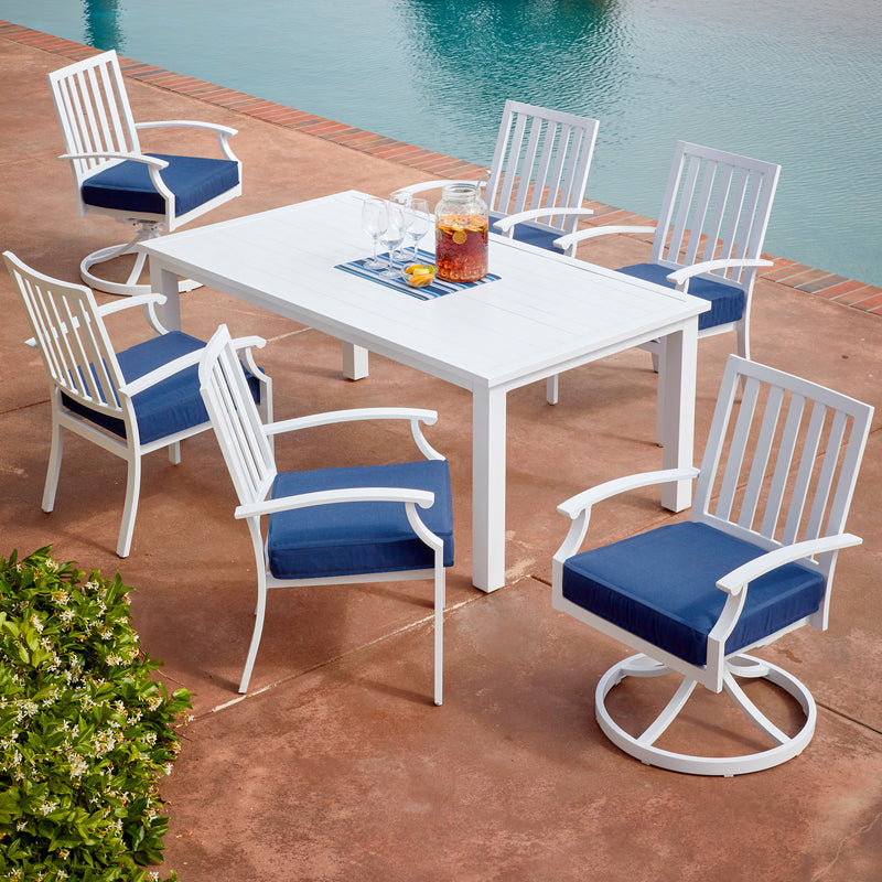 Bridgeport 7pc Coastal Dining Set