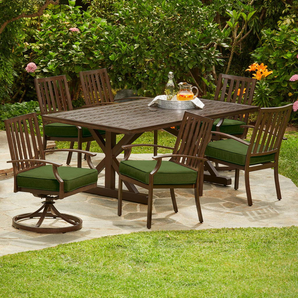 Arbor Ridge 7-Piece Trestle Dining Set