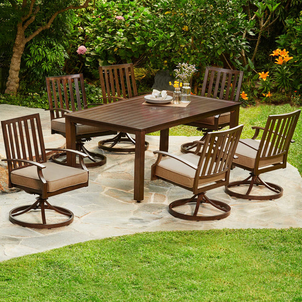 Arbor Ridge 7-Piece Motion Dining Set