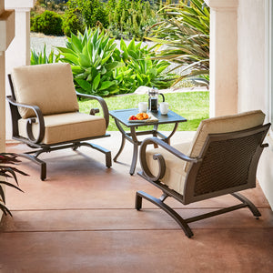 Milano 3pc Seating Set