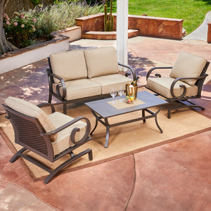 Milano 4pc Seating Set