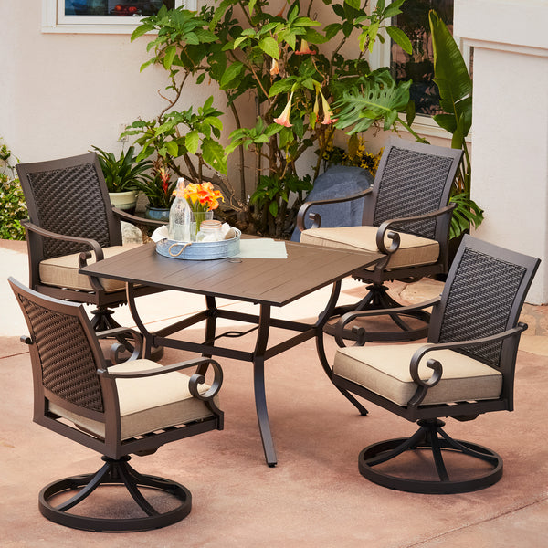 Milano 5pc Motion Dining Set