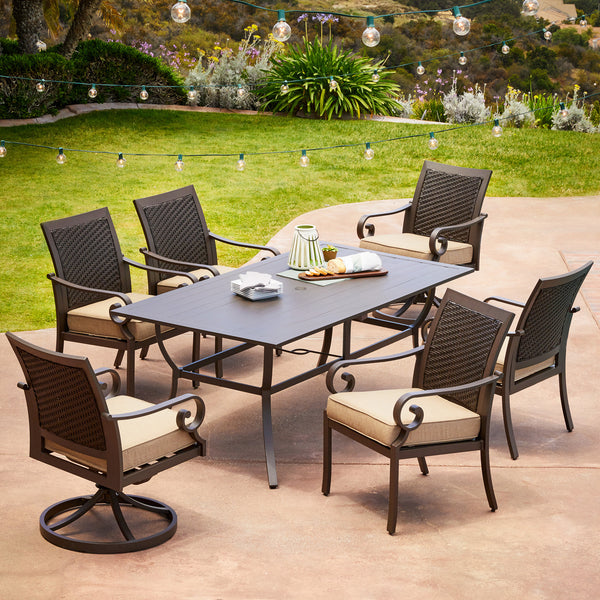 Milano 7pc Dining Set