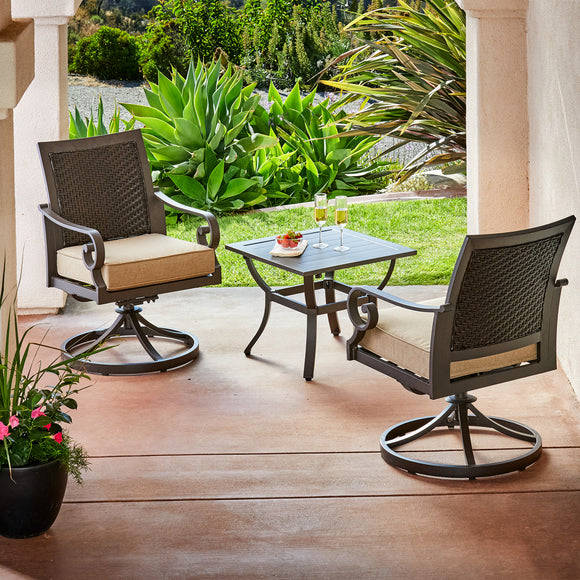 Milano 3pc Bistro Set