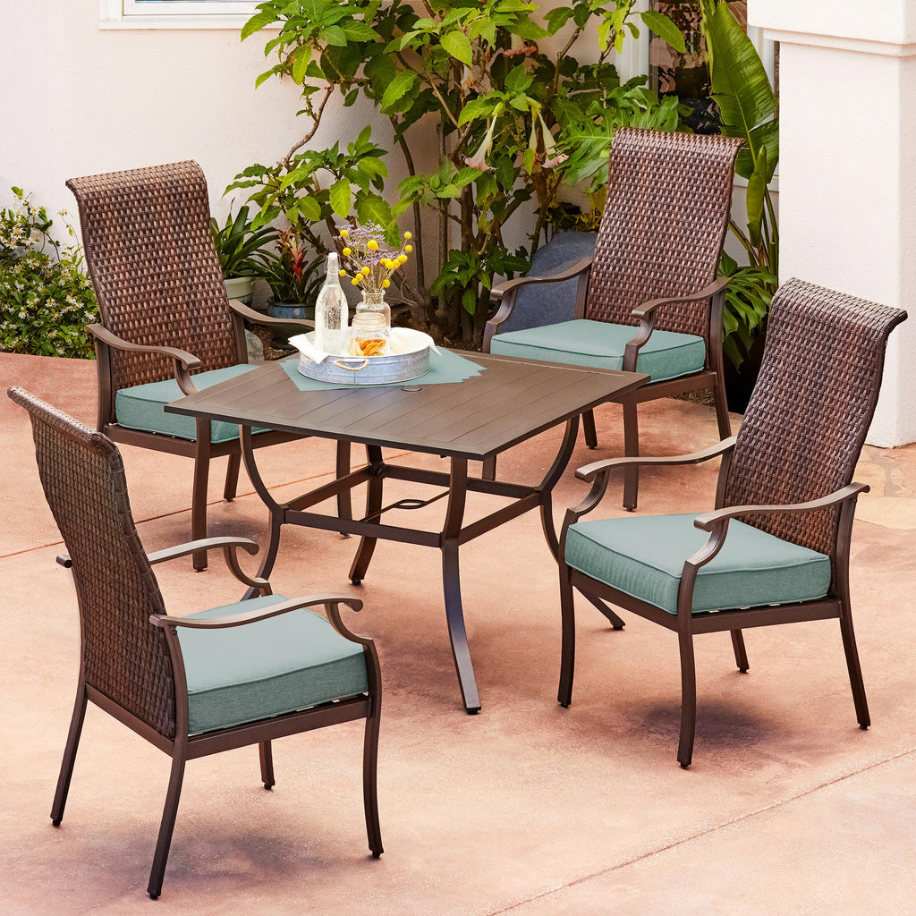 Fall Creek 5-Piece Stationary Dining Set