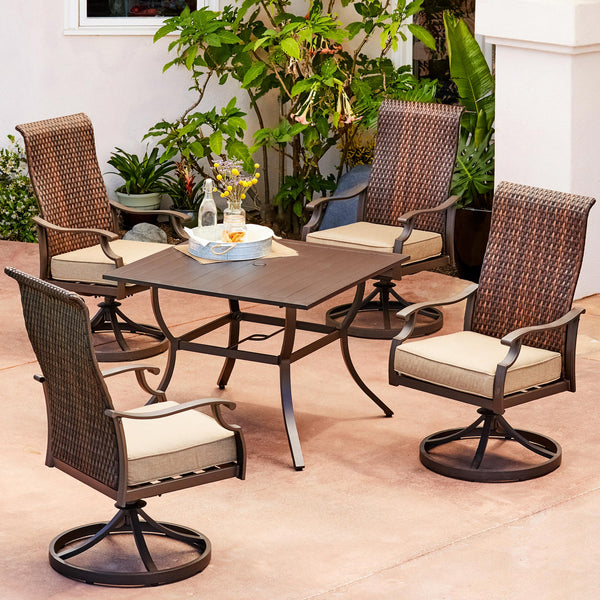 Fall Creek 5-Piece Motion Dining Set