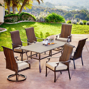 Rhone Valley 7pc Dining Set