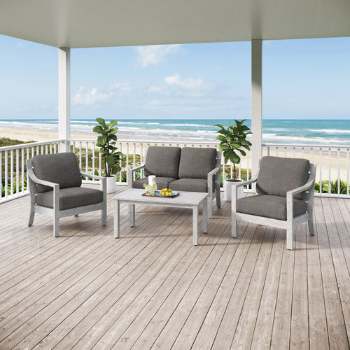South Beach 4pc Conversation Set