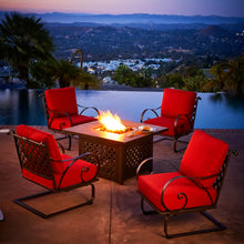 Load image into Gallery viewer, Sienna 5pc Fire Pit Conversation Set