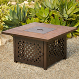 Sienna 5pc Fire Pit Conversation Set