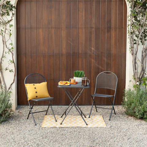 Ludwig 3-Piece Folding Bistro Set