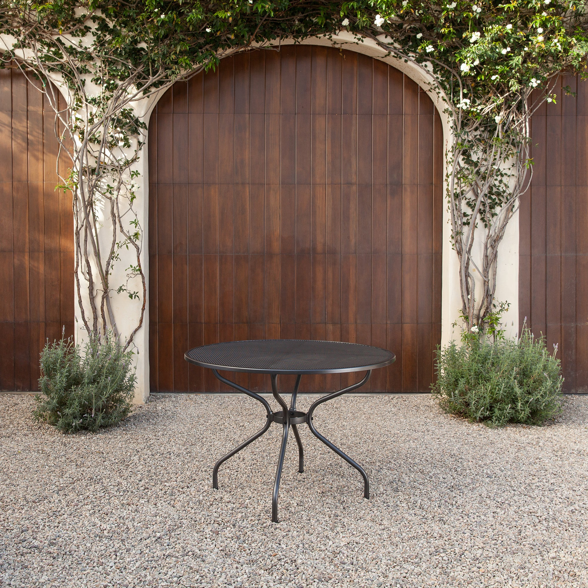 Ludwig Patio Round Dining Table  seats four   Metal Mesh Top. Royal Garden Patio Furniture   Your Outdoor Furniture Store