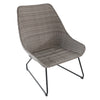 Urban Space Patio Wicker 3-Piece Chat Set chair