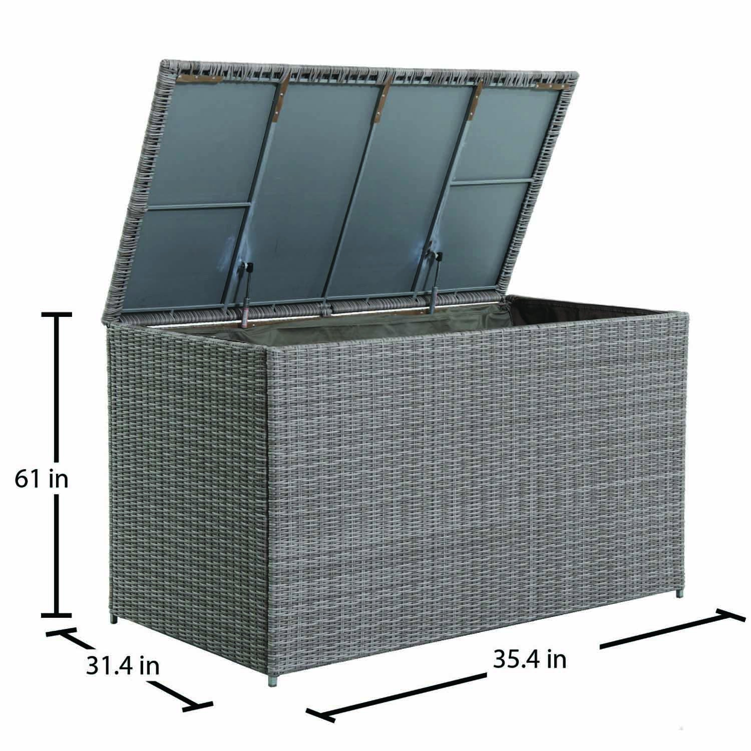 Royal Garden Webster Wicker Outdoor Extra Large Storage