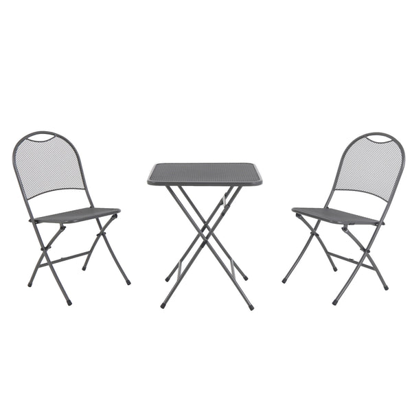 Ludwig 3pc Folding Bistro Set