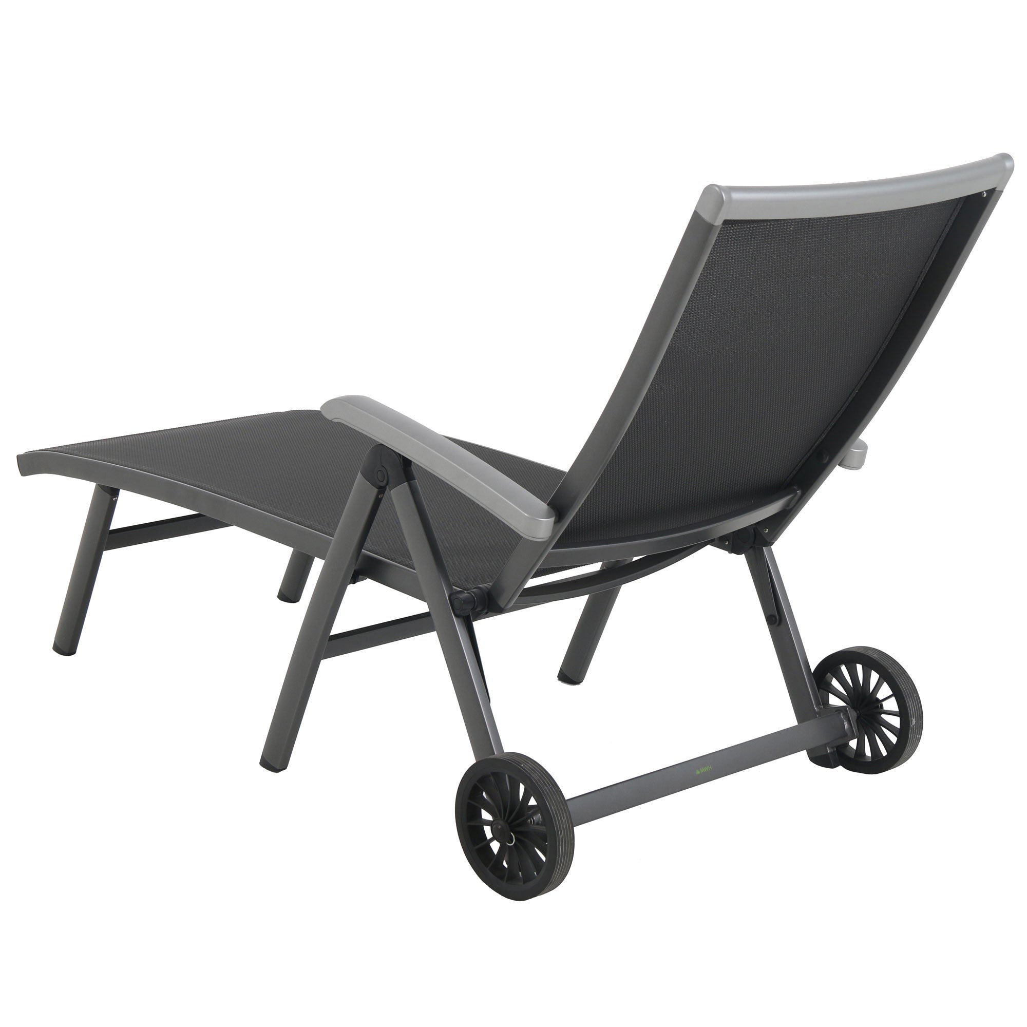 Royal Garden Ludwig Aluminum Folding Chaise Lounge Chair