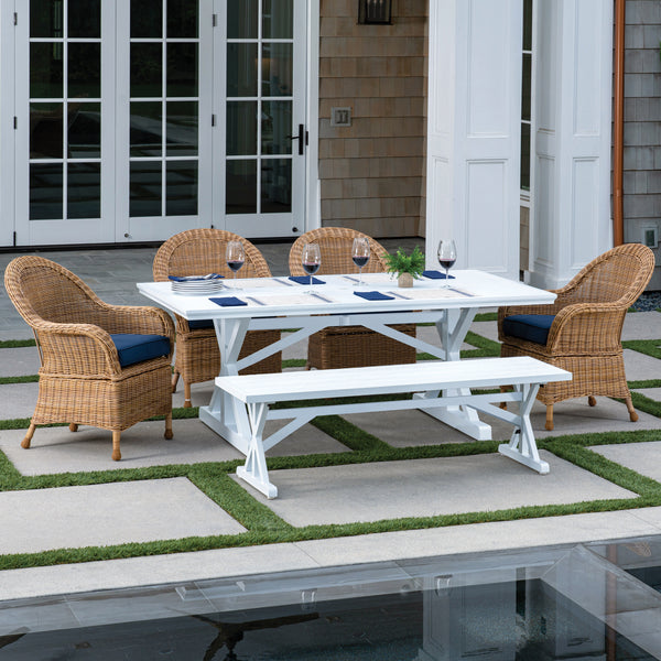 St. Martin 6-Piece Bench Dining Set